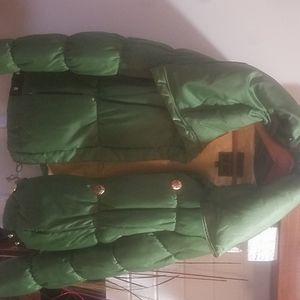 Baby phat green coat
